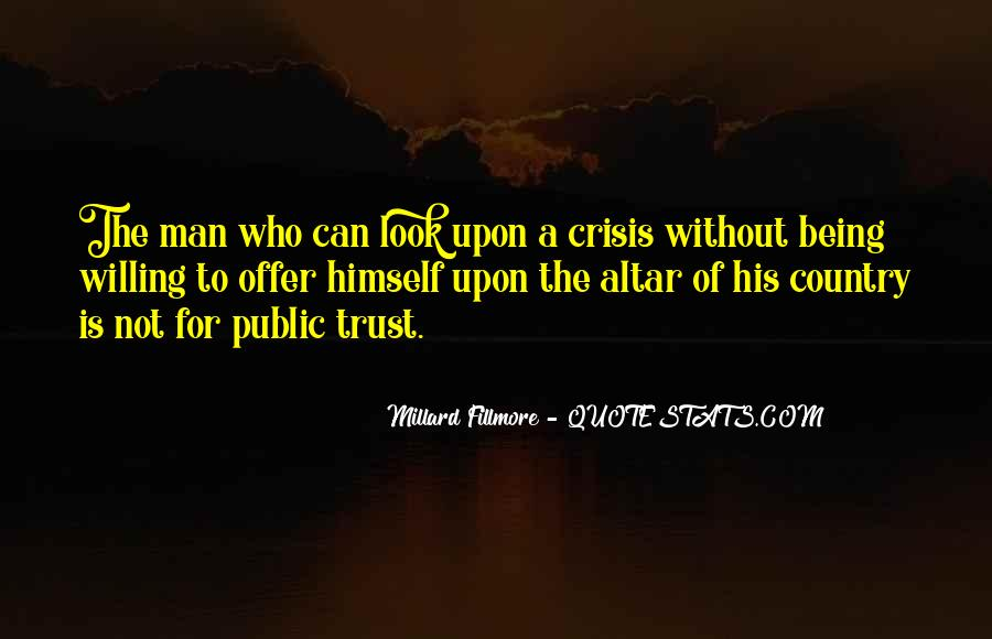 Millard Fillmore Quotes #1210839