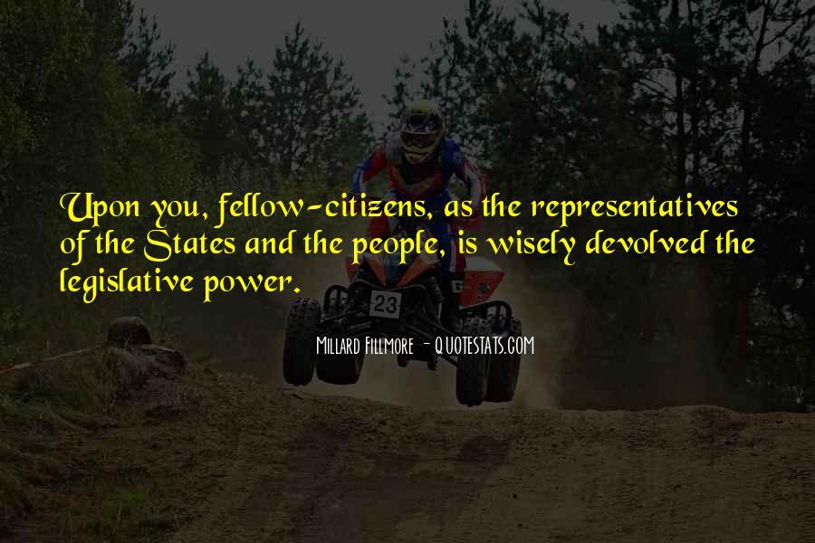 Millard Fillmore Quotes #162967
