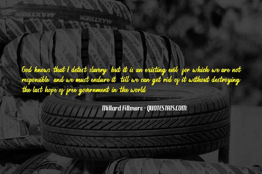 Millard Fillmore Quotes #558299