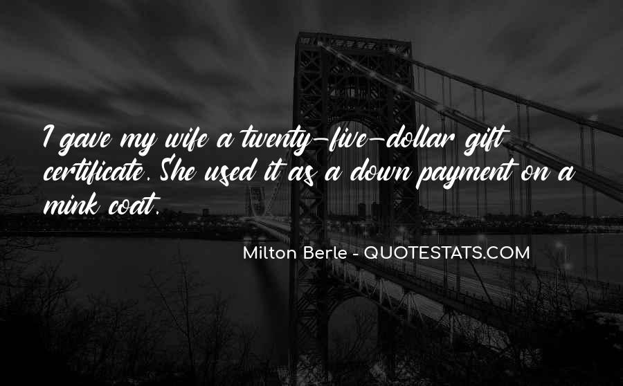 Milton Berle Quotes #1062591