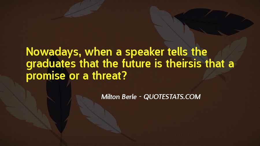 Milton Berle Quotes #1131178