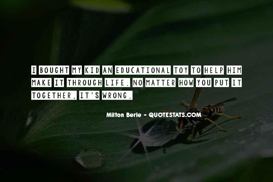 Milton Berle Quotes #1291843