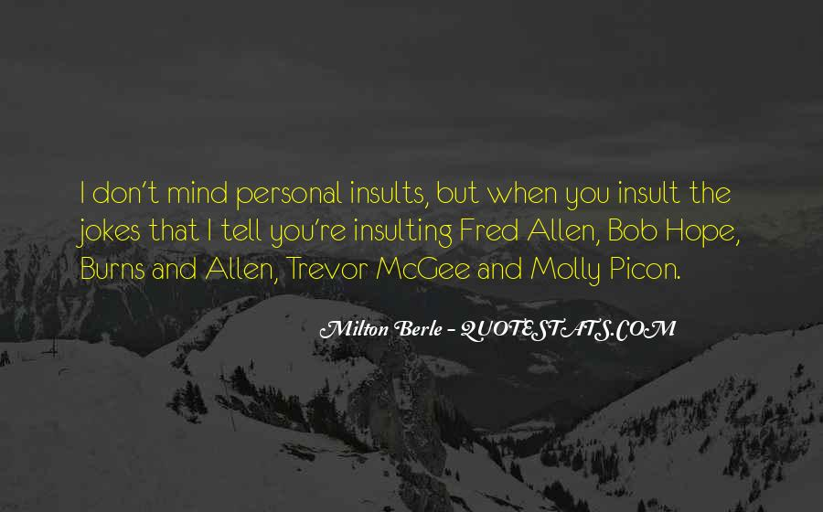 Milton Berle Quotes #1668760