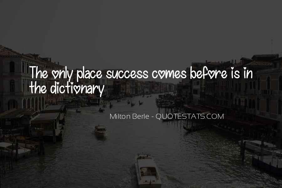 Milton Berle Quotes #183061