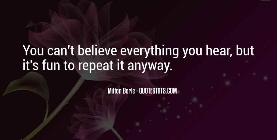 Milton Berle Quotes #1856195
