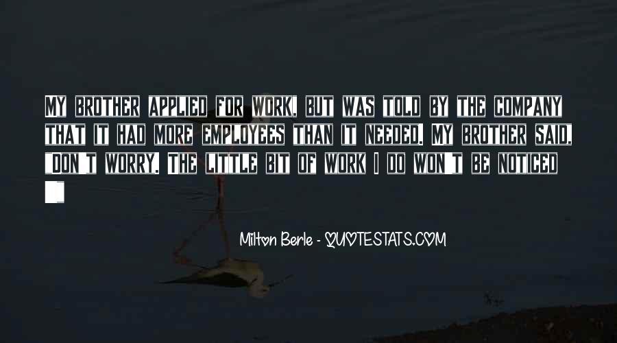 Milton Berle Quotes #791183