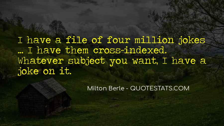 Milton Berle Quotes #80264