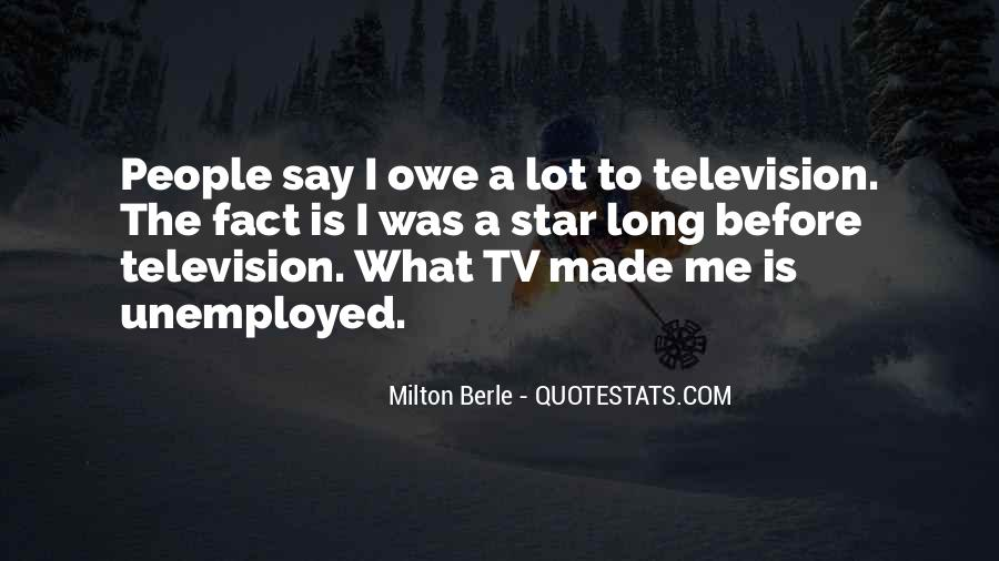 Milton Berle Quotes #831191