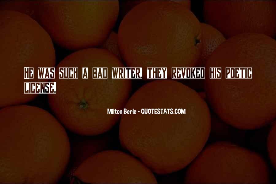 Milton Berle Quotes #949413