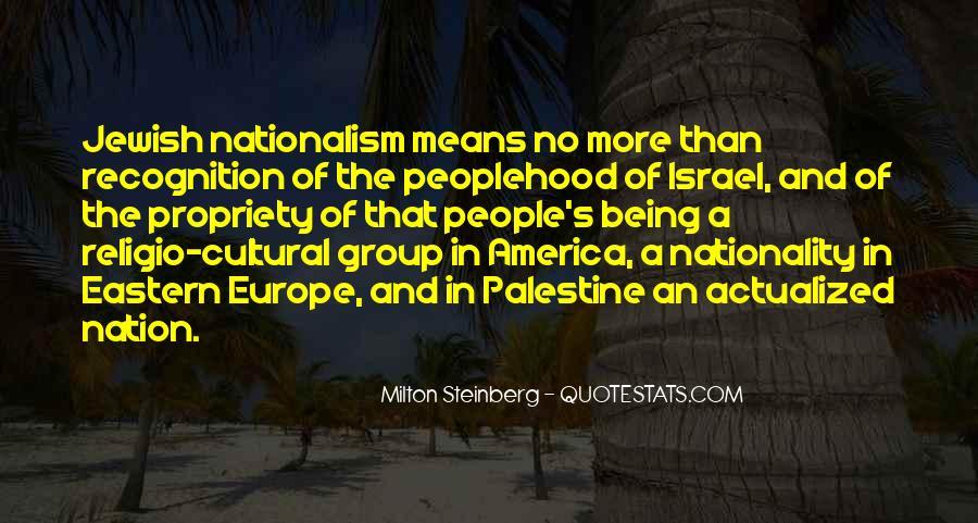 Milton Steinberg Quotes #1112490