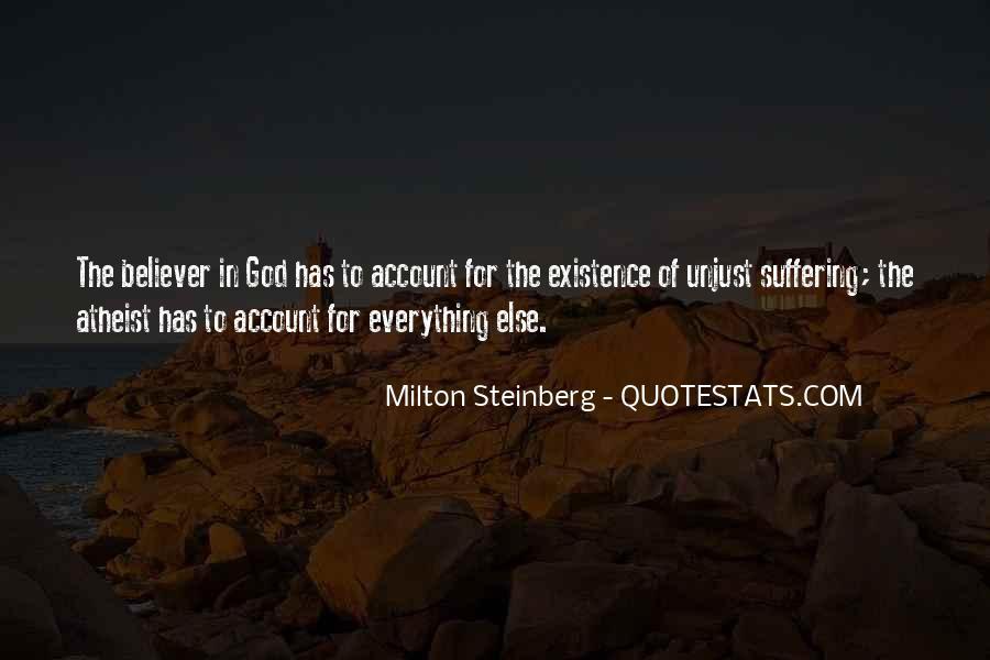 Milton Steinberg Quotes #211873