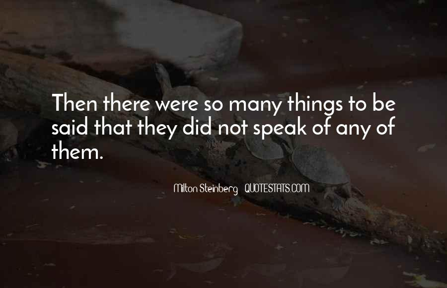 Milton Steinberg Quotes #839459