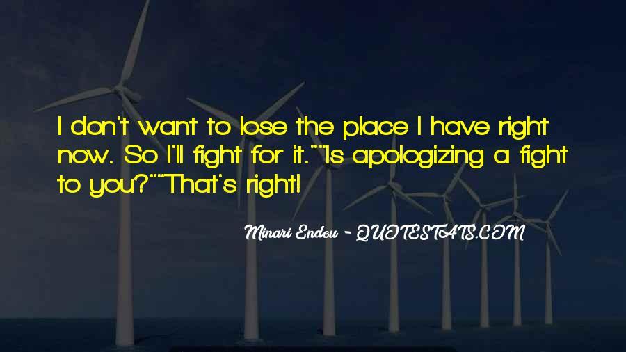 Minari Endou Quotes #1420703
