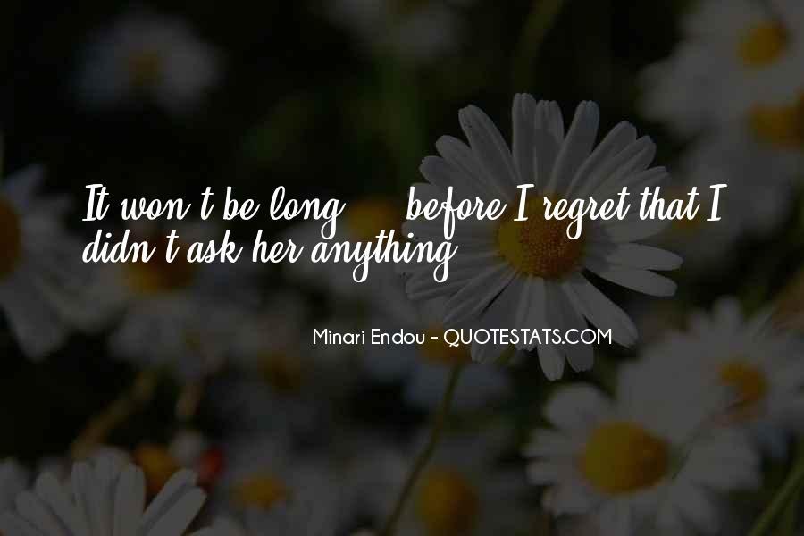 Minari Endou Quotes #53416