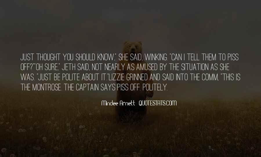 Mindee Arnett Quotes #1280384