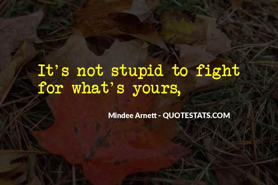 Mindee Arnett Quotes #1382233