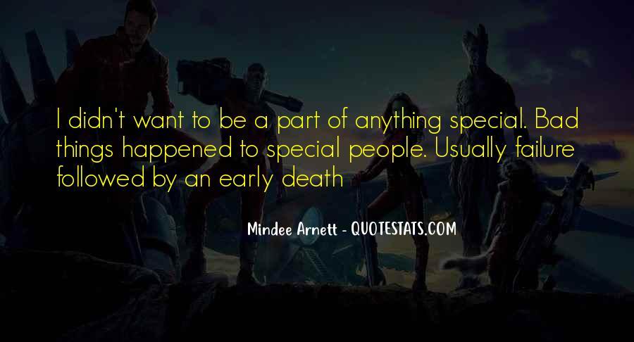 Mindee Arnett Quotes #815883