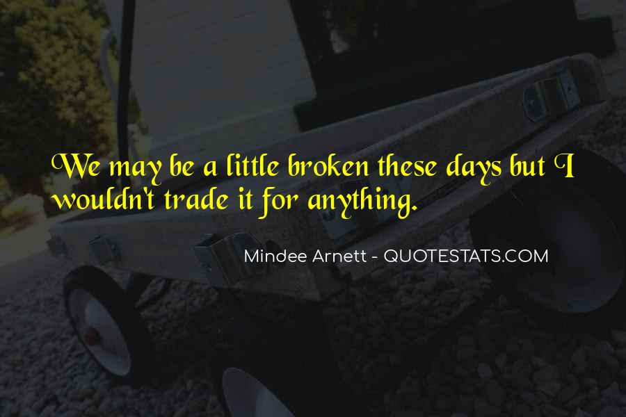 Mindee Arnett Quotes #945733