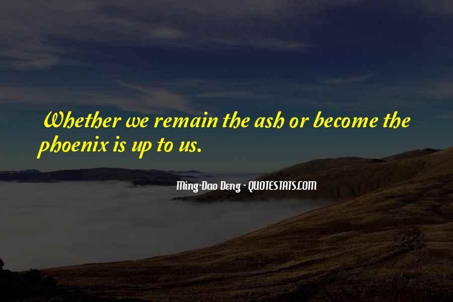 Ming-Dao Deng Quotes #1639426