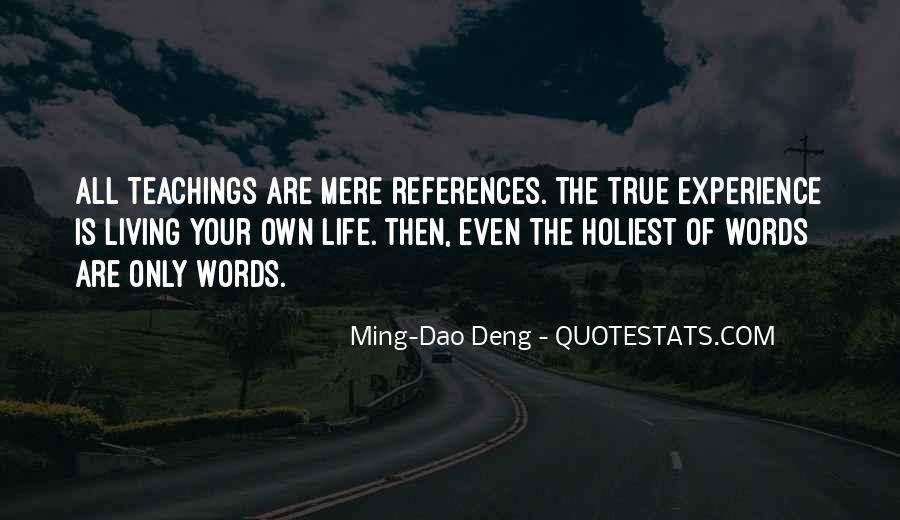 Ming-Dao Deng Quotes #216279
