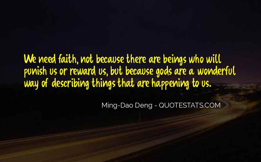 Ming-Dao Deng Quotes #84782