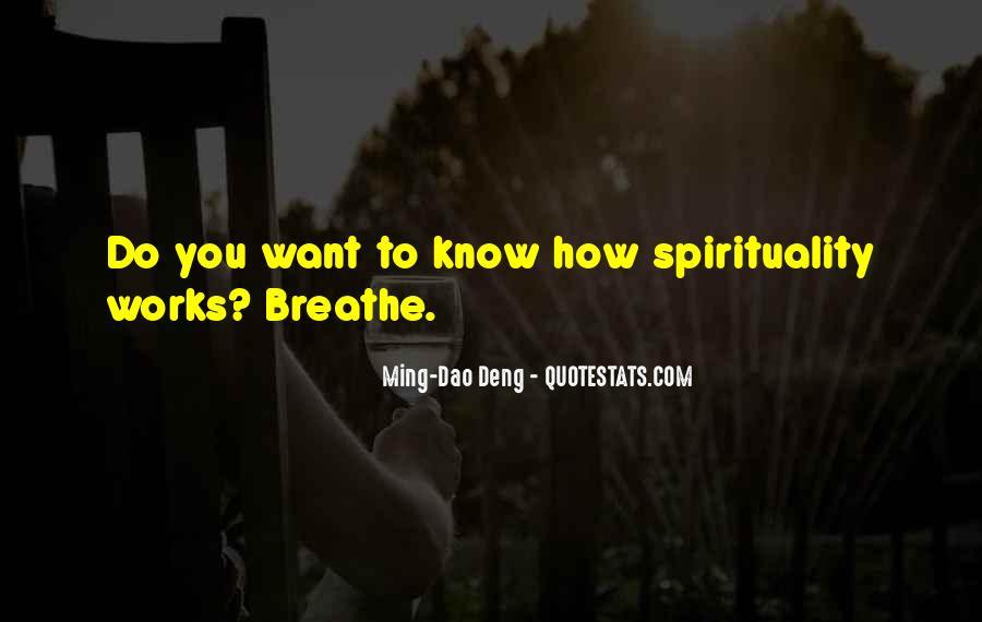 Ming-Dao Deng Quotes #935052