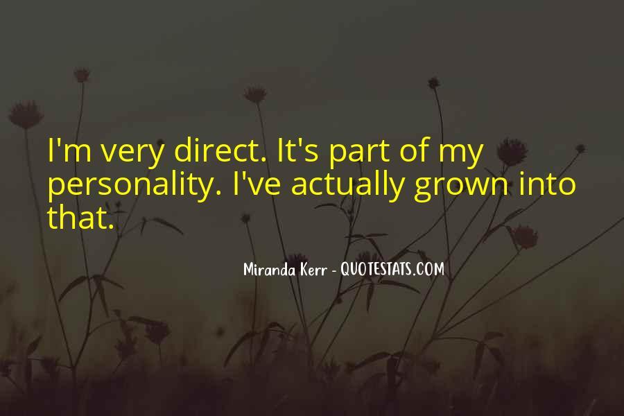 Miranda Kerr Quotes #1351618