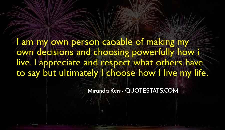 Miranda Kerr Quotes #524906