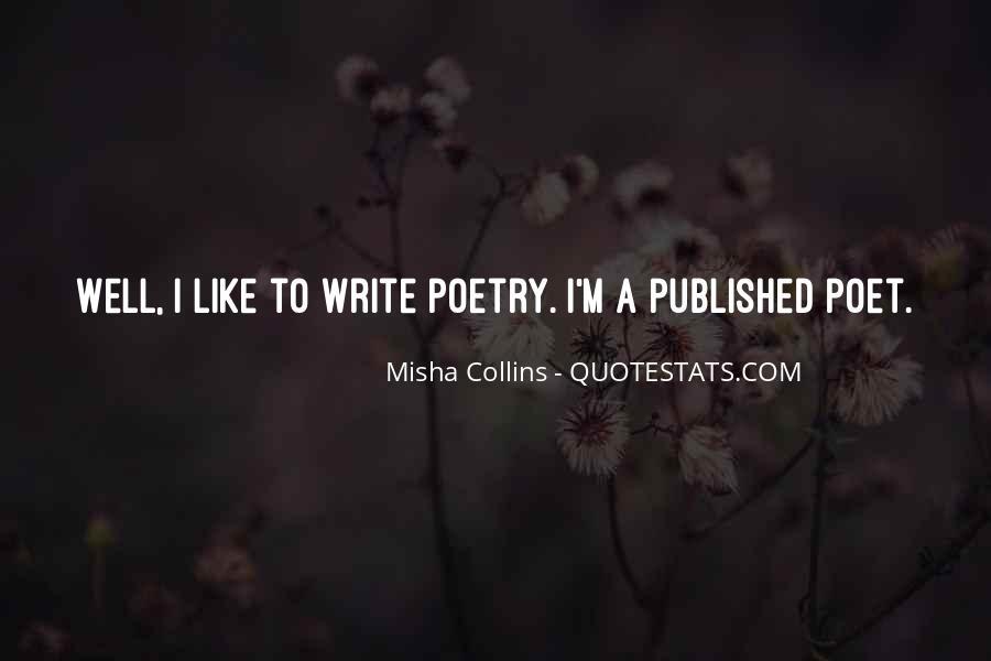 Misha Collins Quotes #324916
