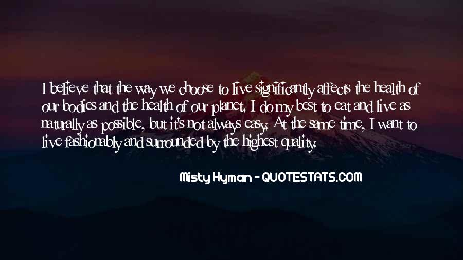 Misty Hyman Quotes #1595654