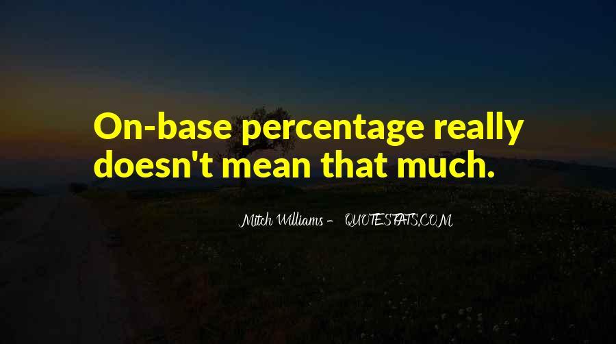 Mitch Williams Quotes #181428