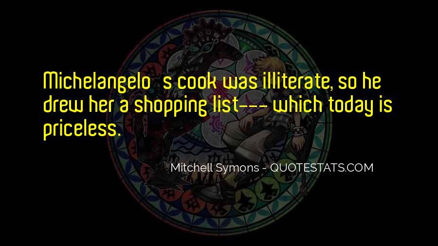 Mitchell Symons Quotes #878488