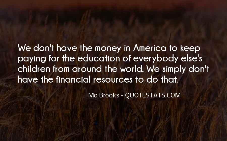 Mo Brooks Quotes #1536946