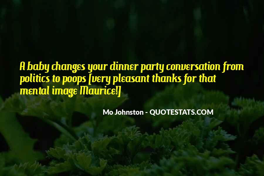 Mo Johnston Quotes #192723