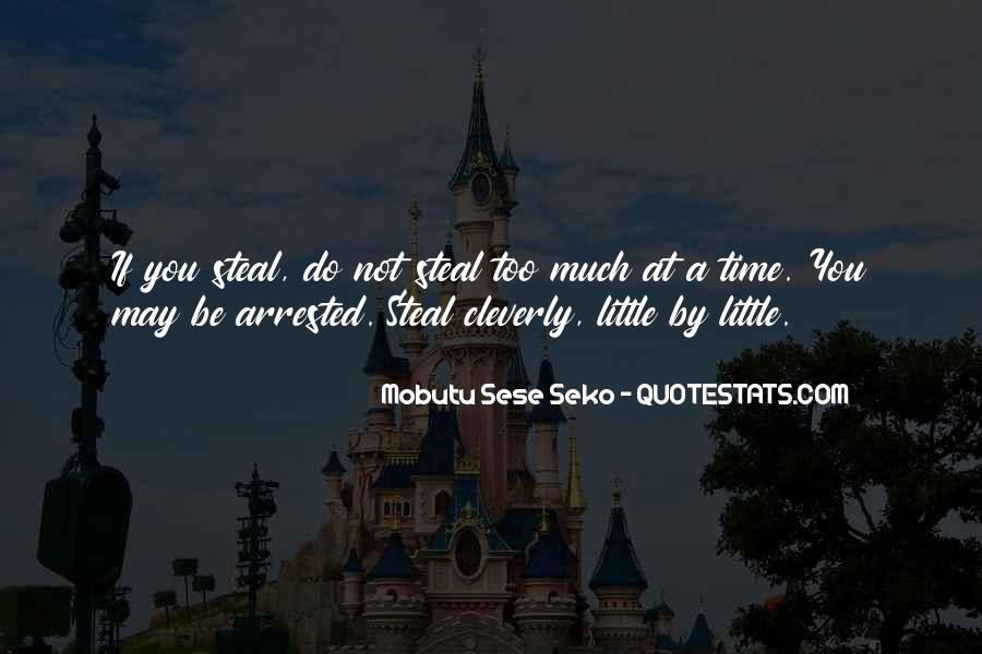 Mobutu Sese Seko Quotes #1391801