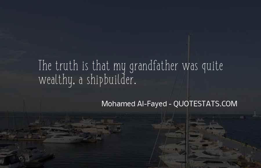 Mohamed Al-Fayed Quotes #61677