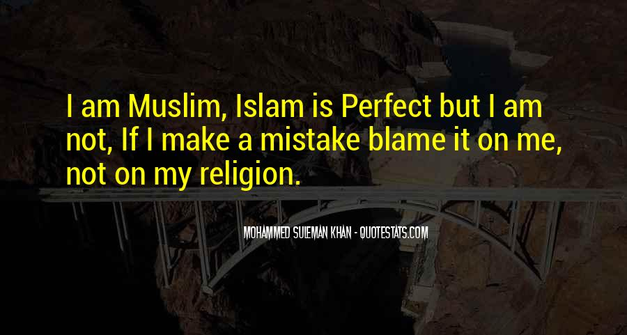 Mohammed Suleman Khan Quotes #833433