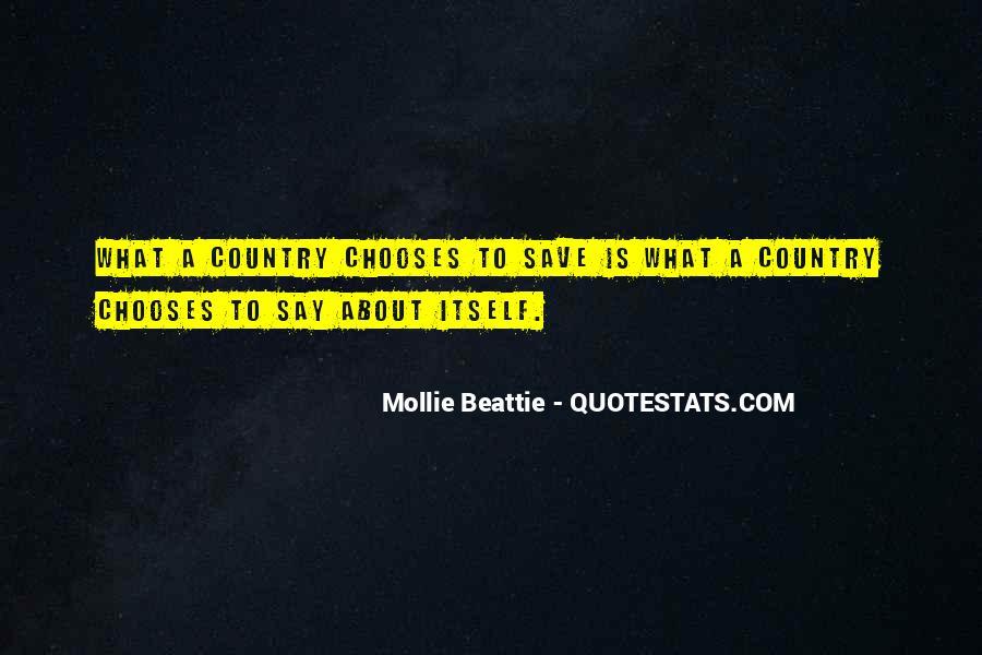 Mollie Beattie Quotes #1665372