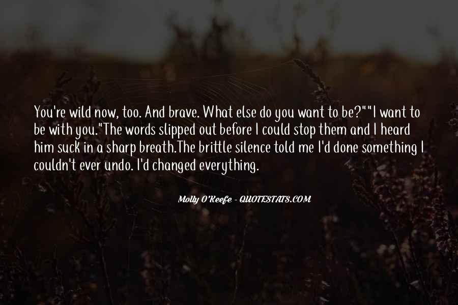 Molly O'Keefe Quotes #1042652