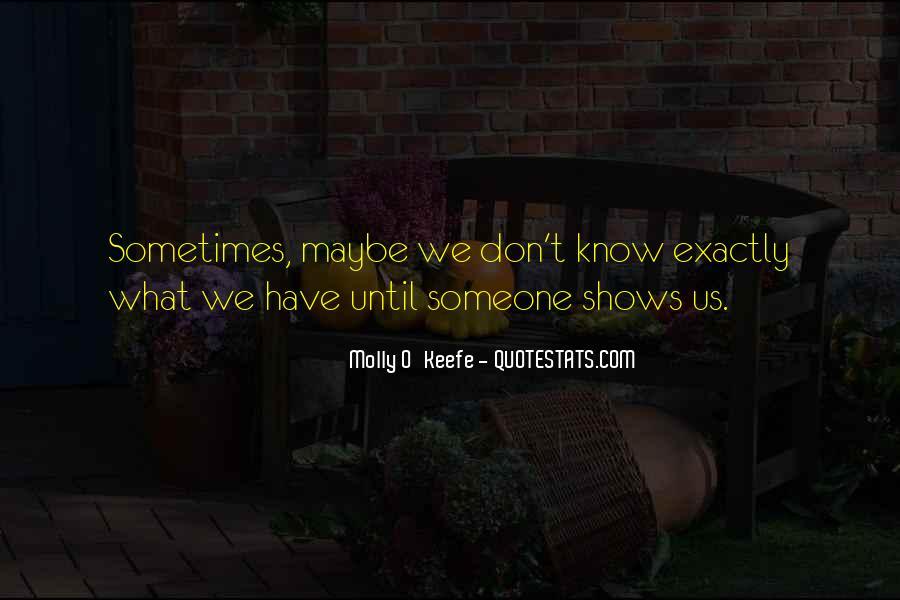 Molly O'Keefe Quotes #473503