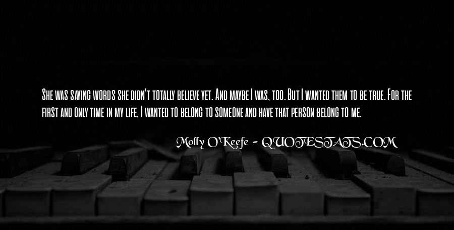 Molly O'Keefe Quotes #538490