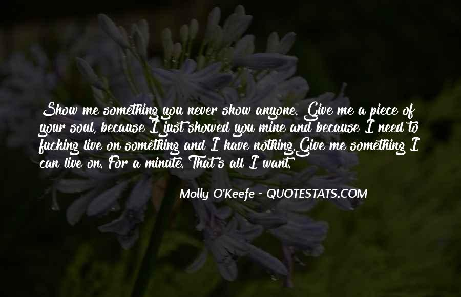 Molly O'Keefe Quotes #890784