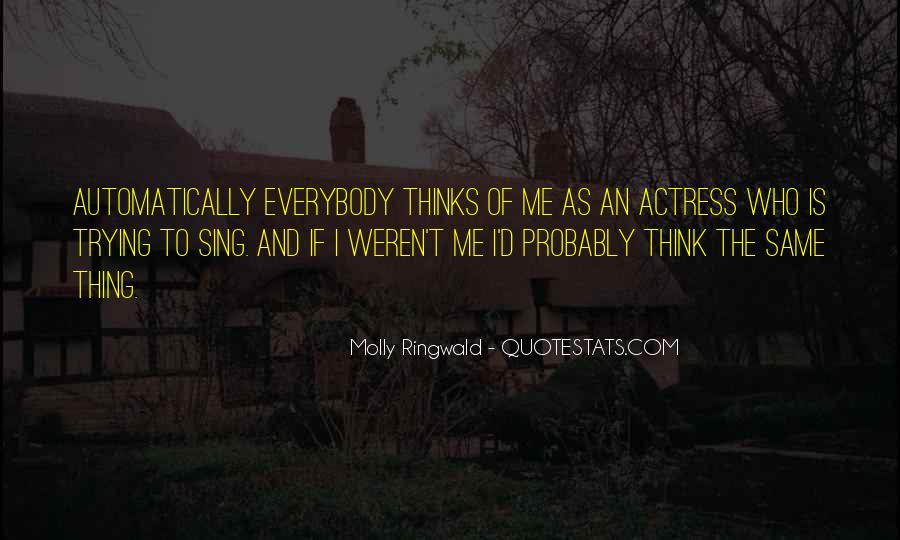 Molly Ringwald Quotes #1800889