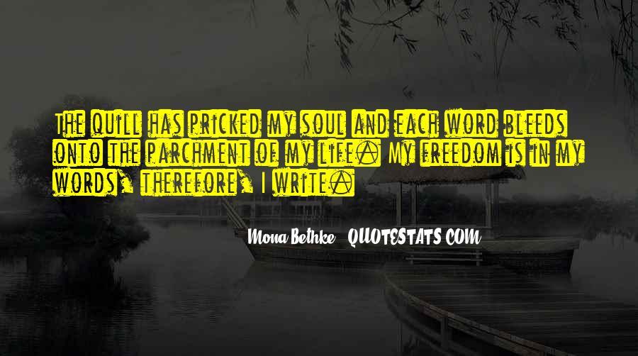 Mona Bethke Quotes #219769