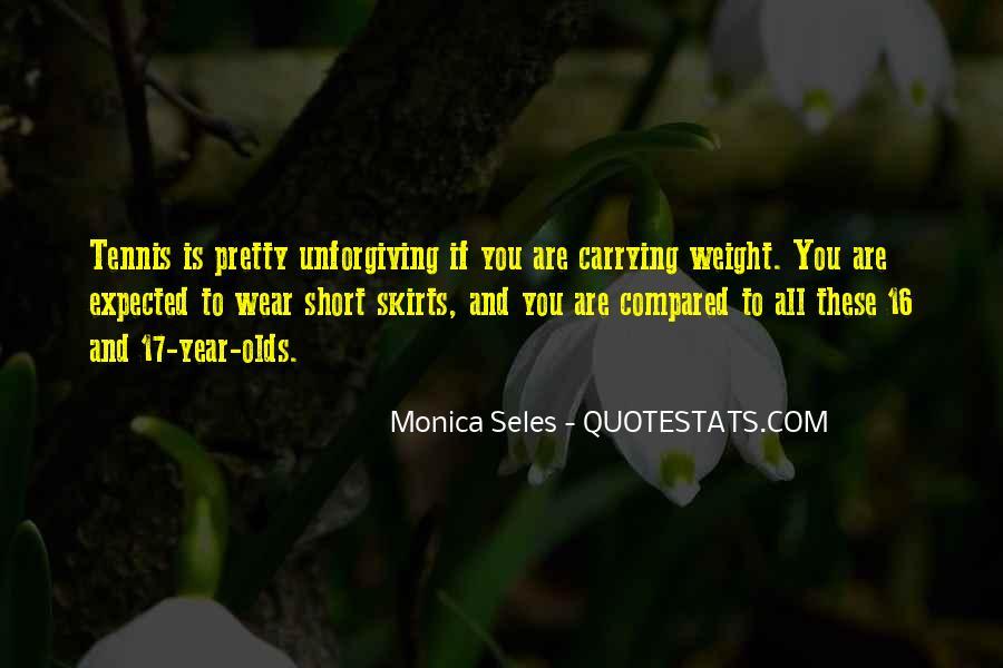 Monica Seles Quotes #390201