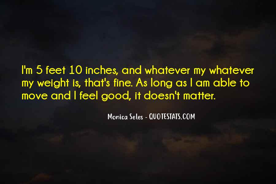 Monica Seles Quotes #57241