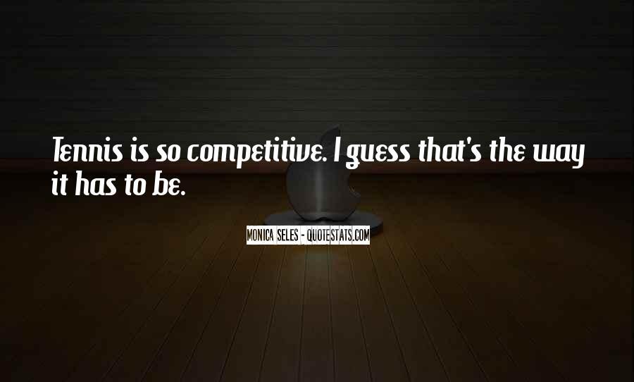 Monica Seles Quotes #812704