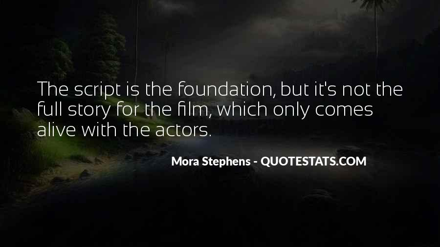 Mora Stephens Quotes #733210