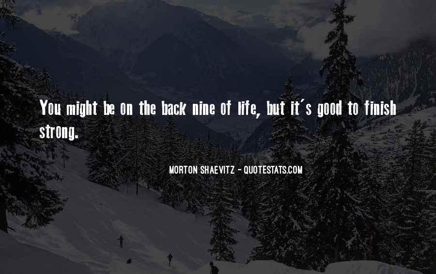 Morton Shaevitz Quotes #1467956