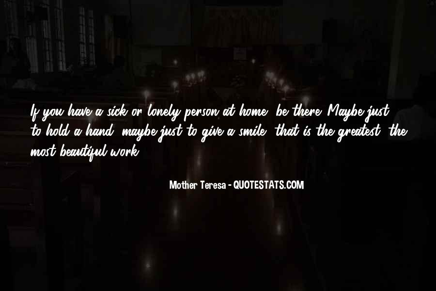 Mother Teresa Quotes #1087577